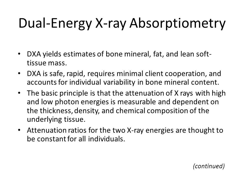 Dual-Energy X-ray Absorptiometry