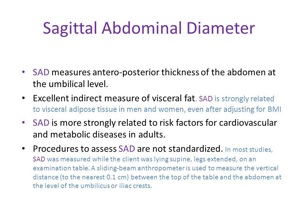 Sagittal Abdominal Diameter