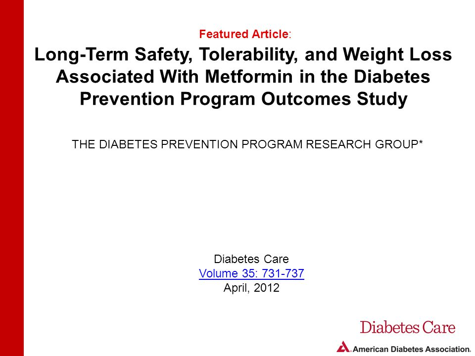 THE DIABETES PREVENTION PROGRAM RESEARCH GROUP*