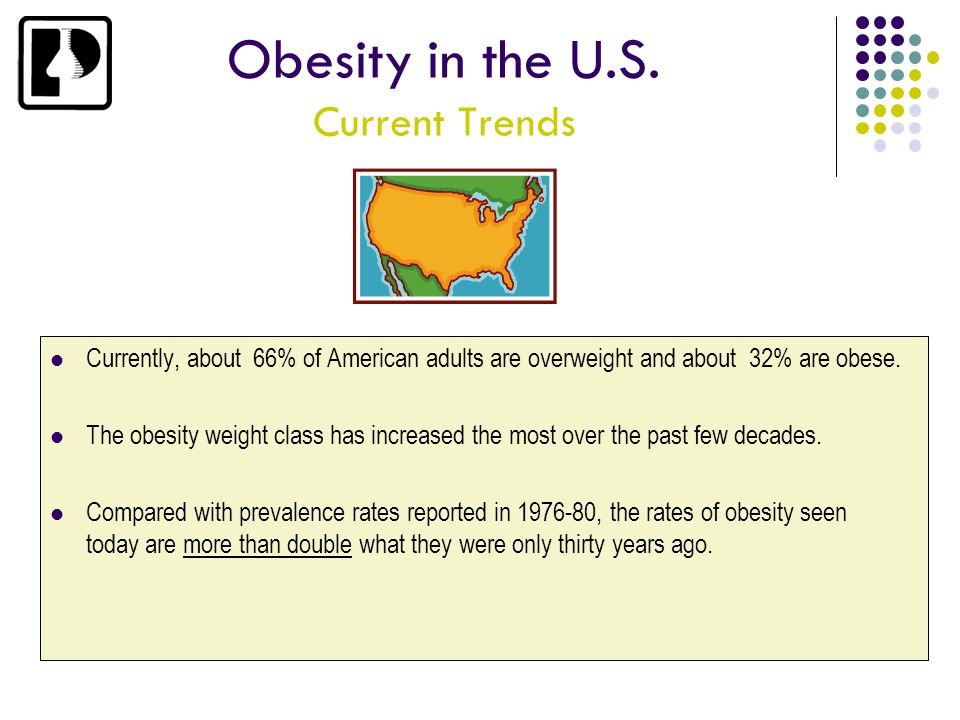 Obesity in the U.S. Current Trends