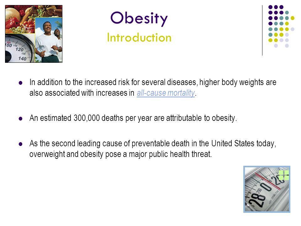 Obesity Introduction