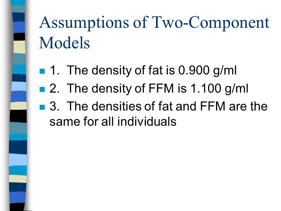 Assumptions of Two-Component Models