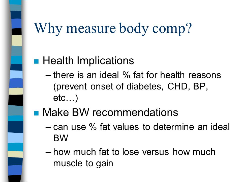 Body Composition Assessment - ppt video online download
