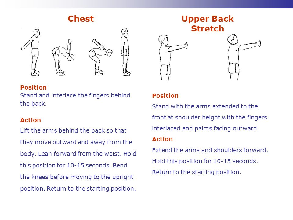Chest Upper Back Stretch