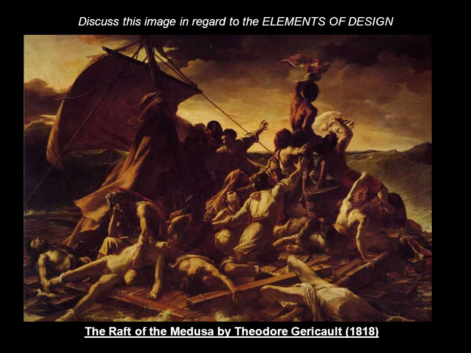 The Raft of the Medusa by Theodore Gericault (1818)