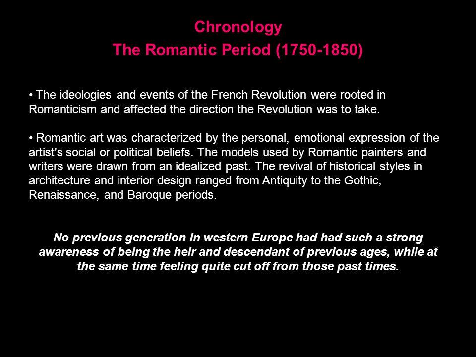 The Romantic Period (1750-1850)