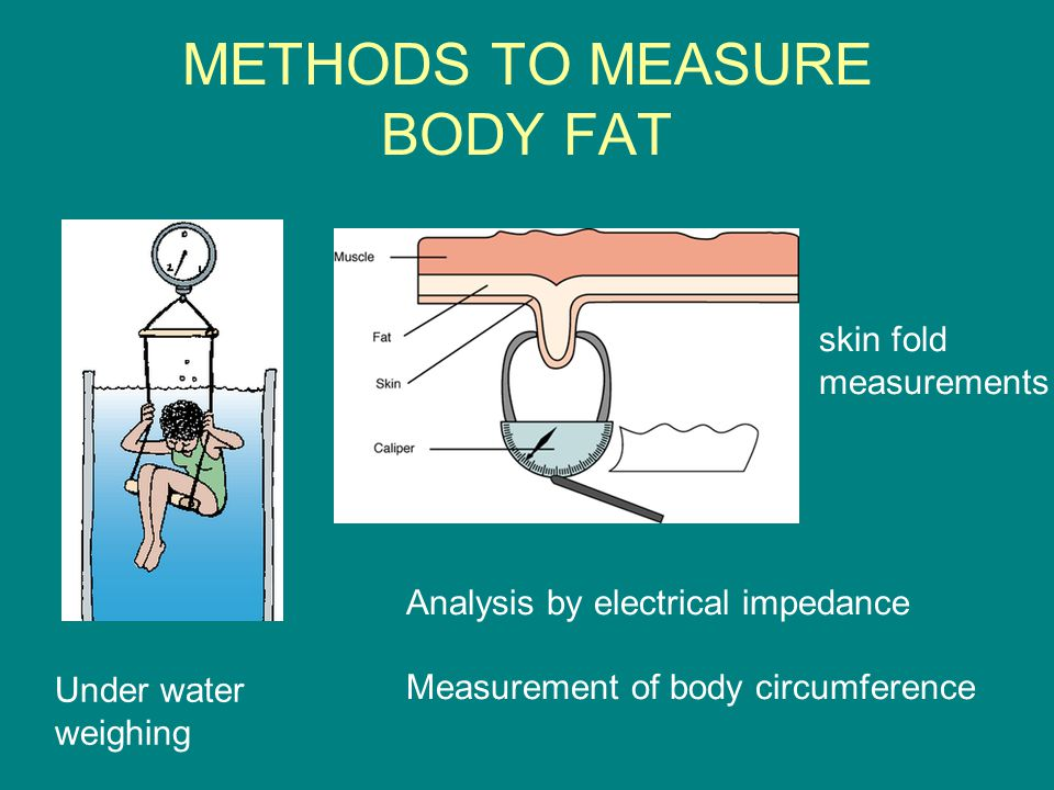 METHODS TO MEASURE BODY FAT