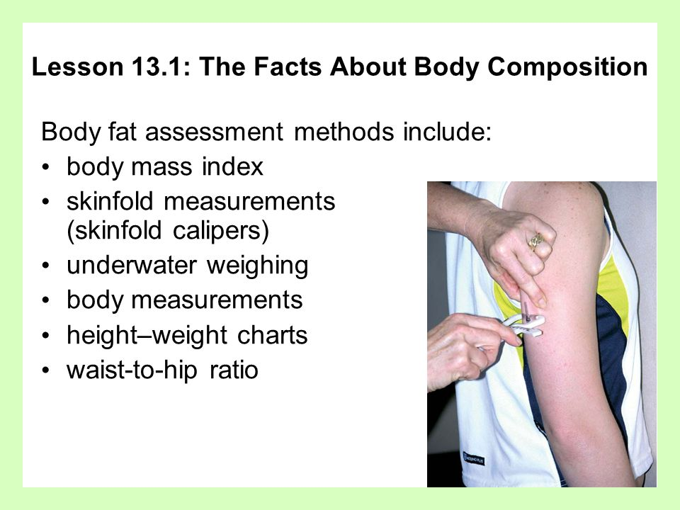Lesson 13.1: The Facts About Body Composition