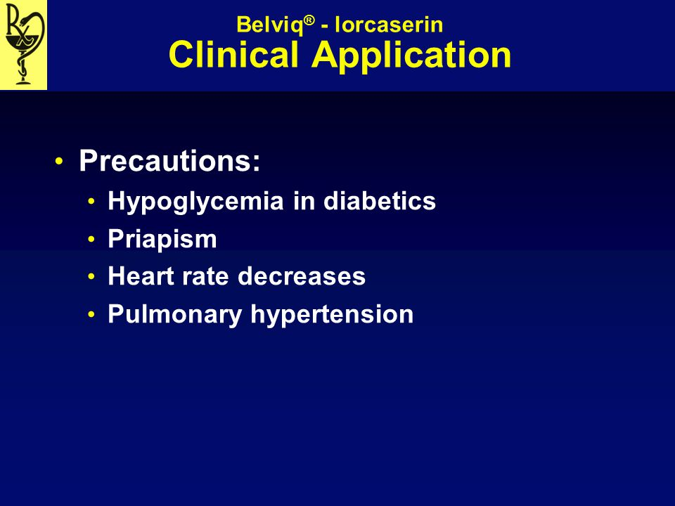 Belviq® - lorcaserin Clinical Application
