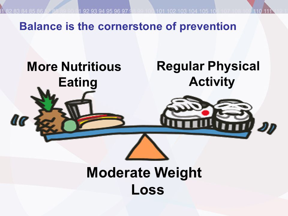 Balance is the cornerstone of prevention