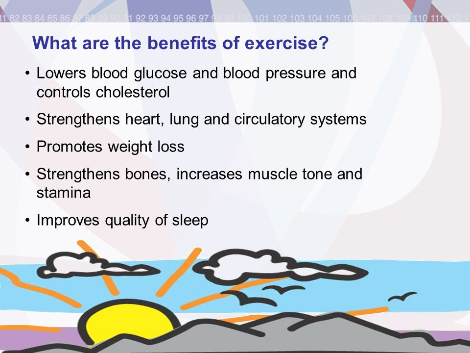 What are the benefits of exercise