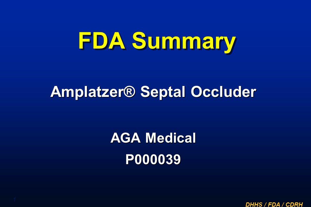 Amplatzer® Septal Occluder