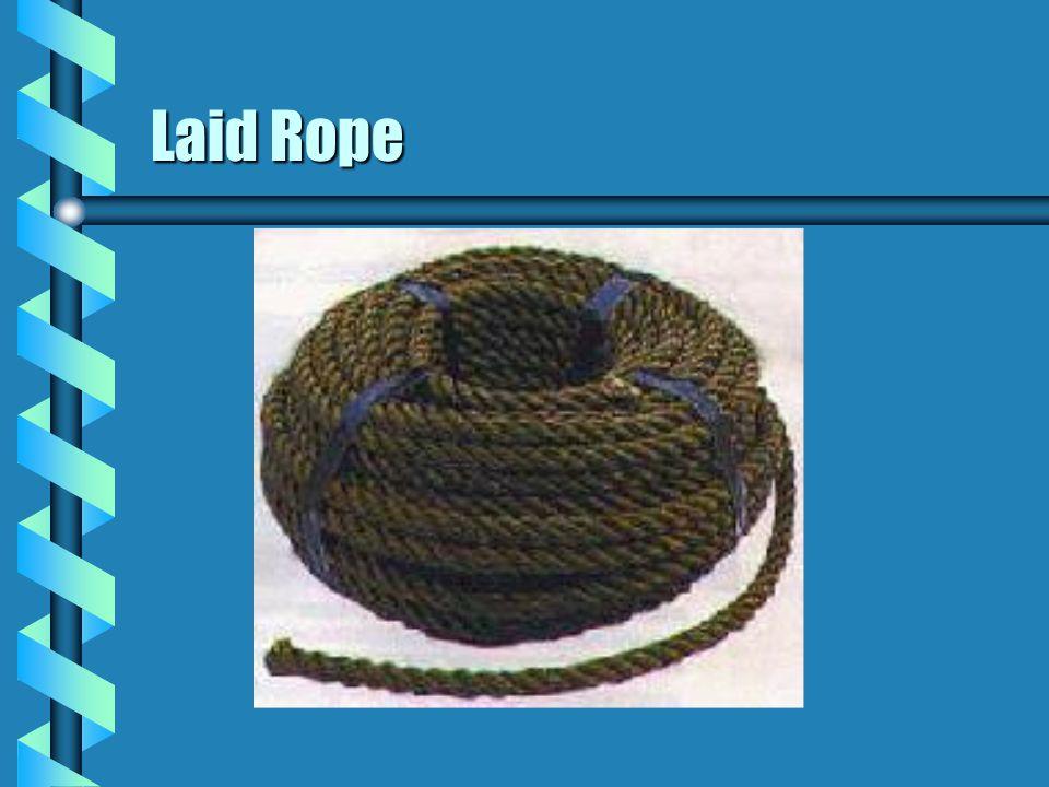 Laid Rope 14