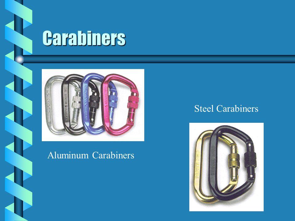 Carabiners Steel Carabiners Aluminum Carabiners 35
