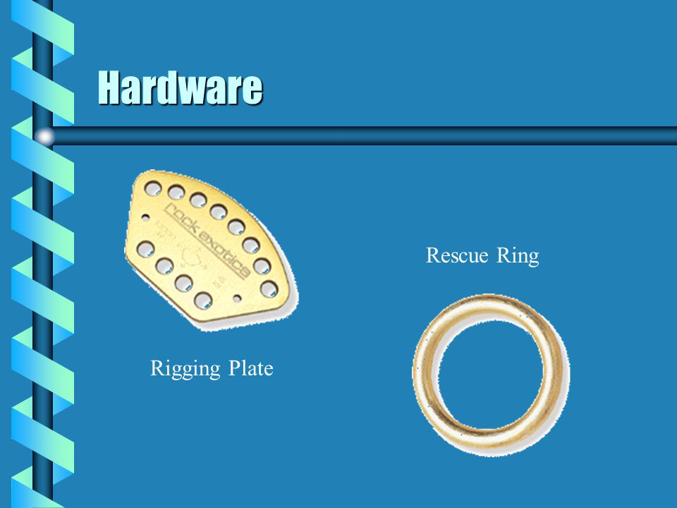 Hardware Rescue Ring Rigging Plate