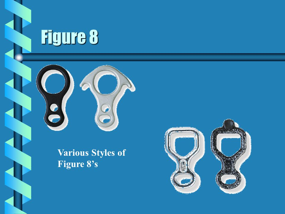 Figure 8 Various Styles of Figure 8's 39