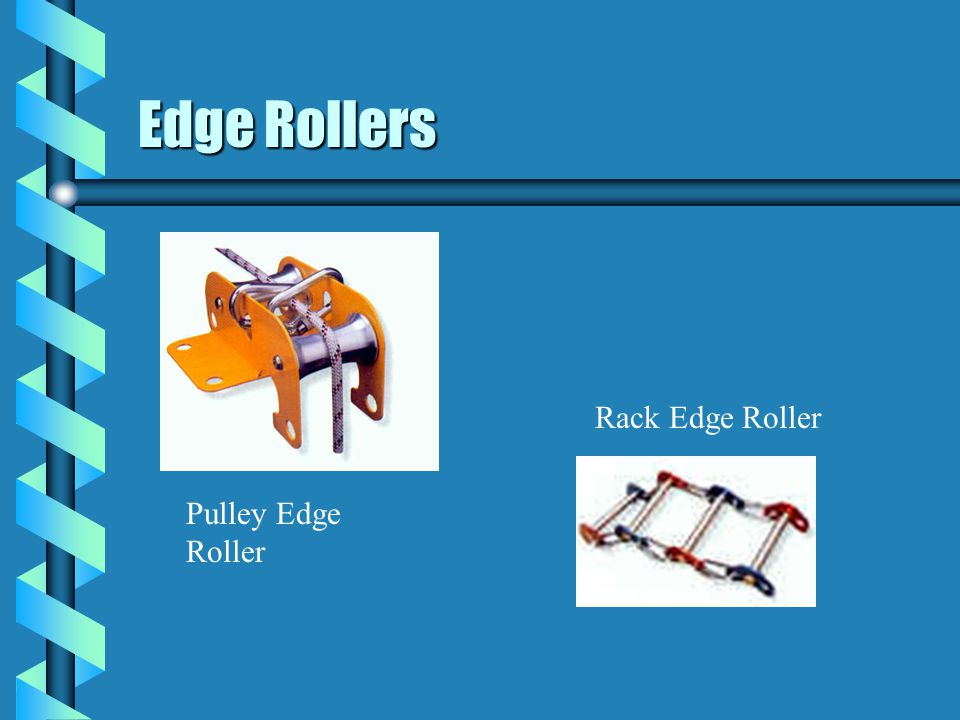 Edge Rollers Rack Edge Roller Pulley Edge Roller