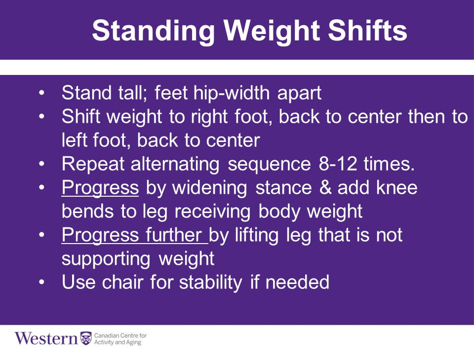 Standing Weight Shifts