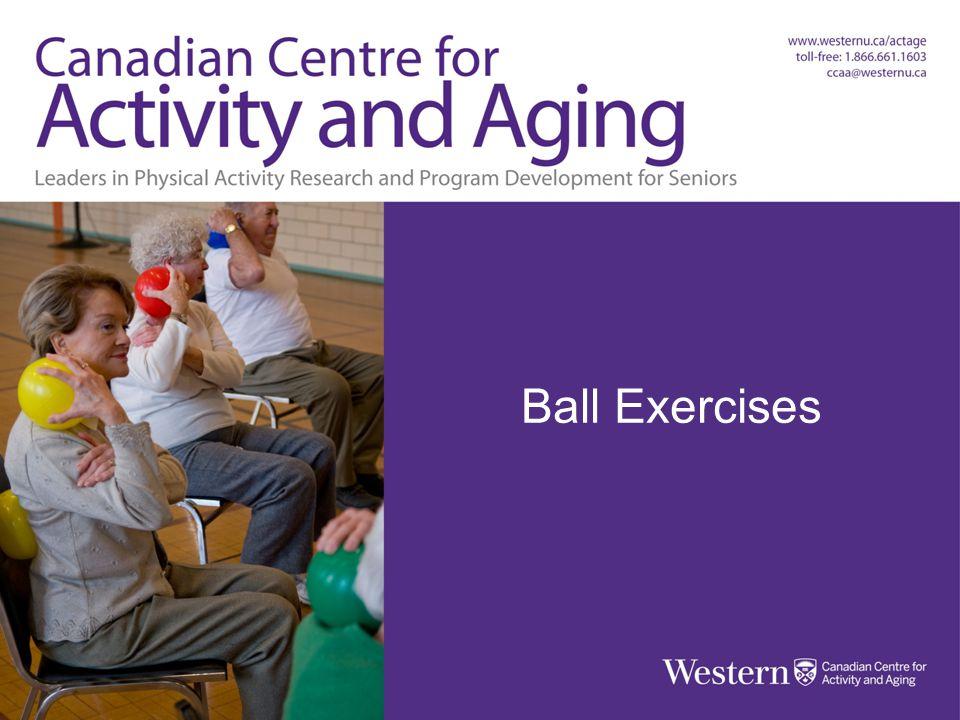 BALL EXERCISES Ball Exercises Balls, Bands & Balance