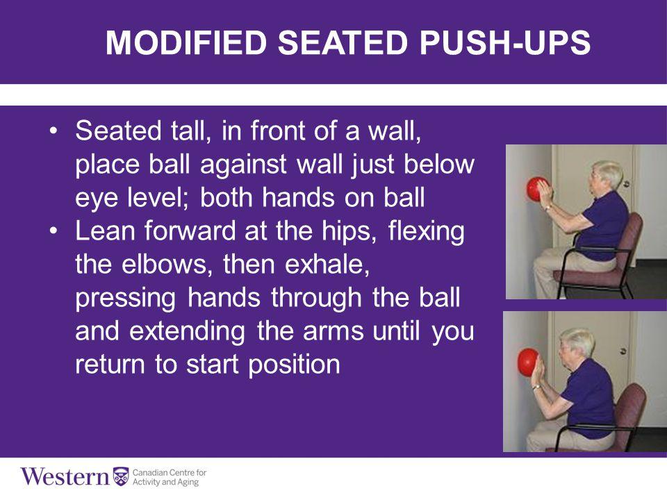 MODIFIED SEATED PUSH-UPS
