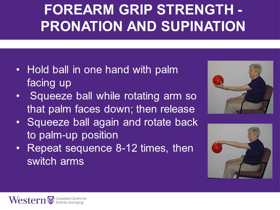 FOREARM GRIP STRENGTH - PRONATION AND SUPINATION