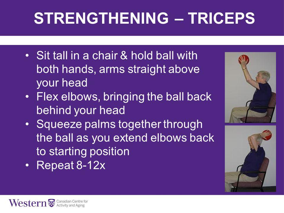 STRENGTHENING – TRICEPS