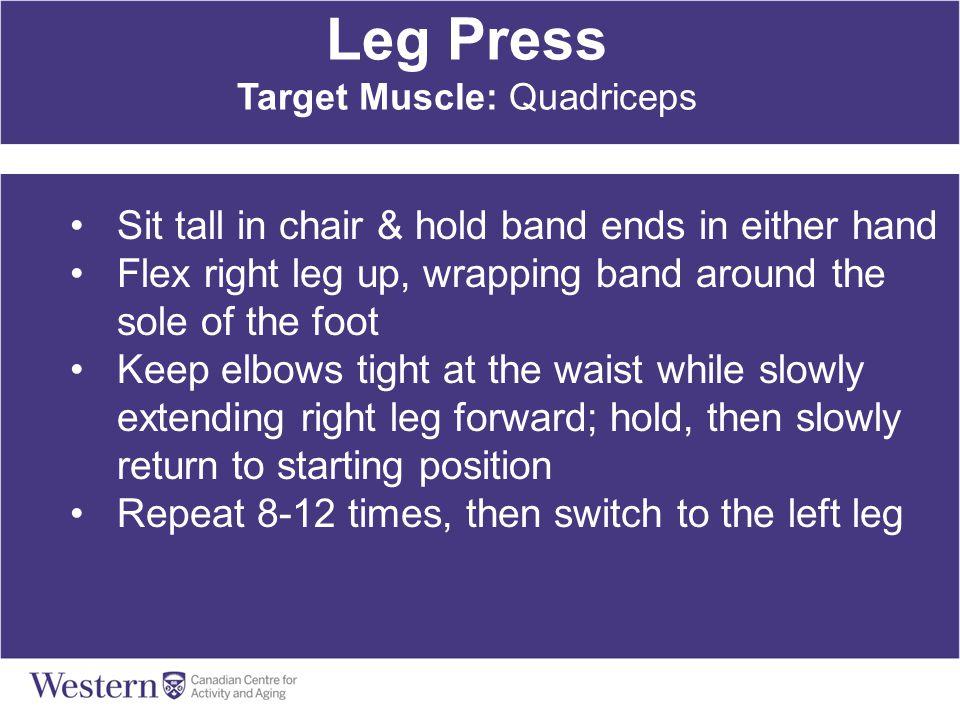 Target Muscle: Quadriceps