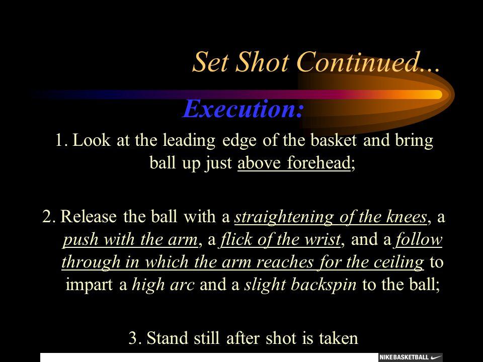 3. Stand still after shot is taken