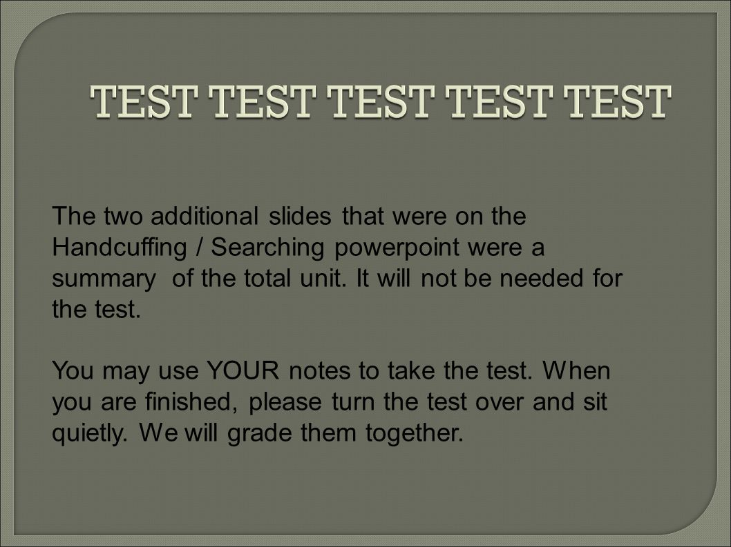 TEST TEST TEST TEST TEST