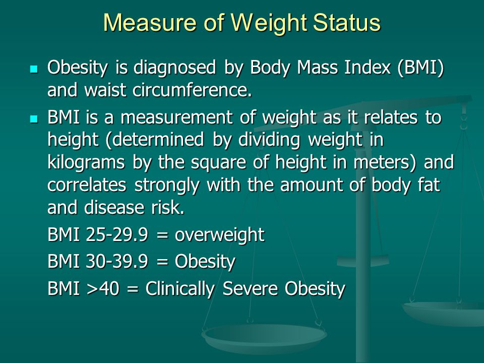 Measure of Weight Status