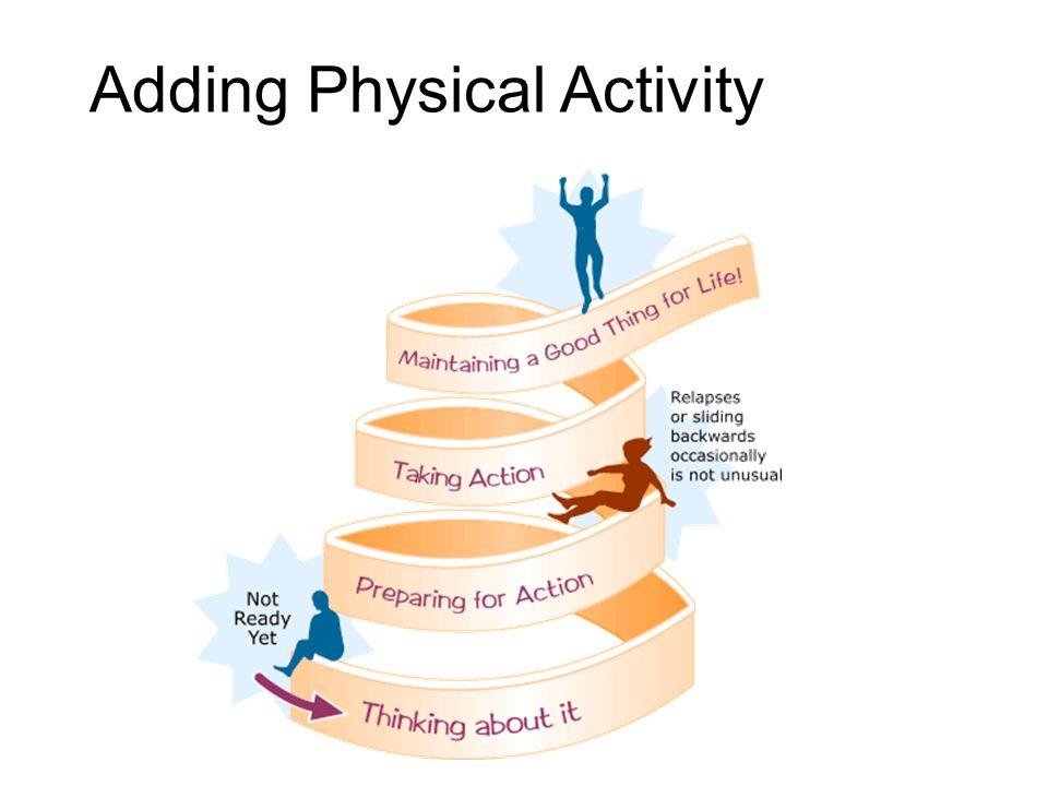Adding Physical Activity