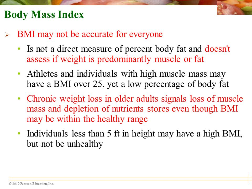 Body Mass Index BMI may not be accurate for everyone