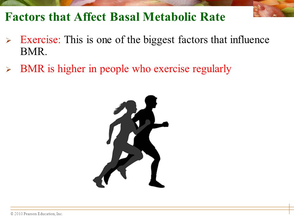 Factors that Affect Basal Metabolic Rate
