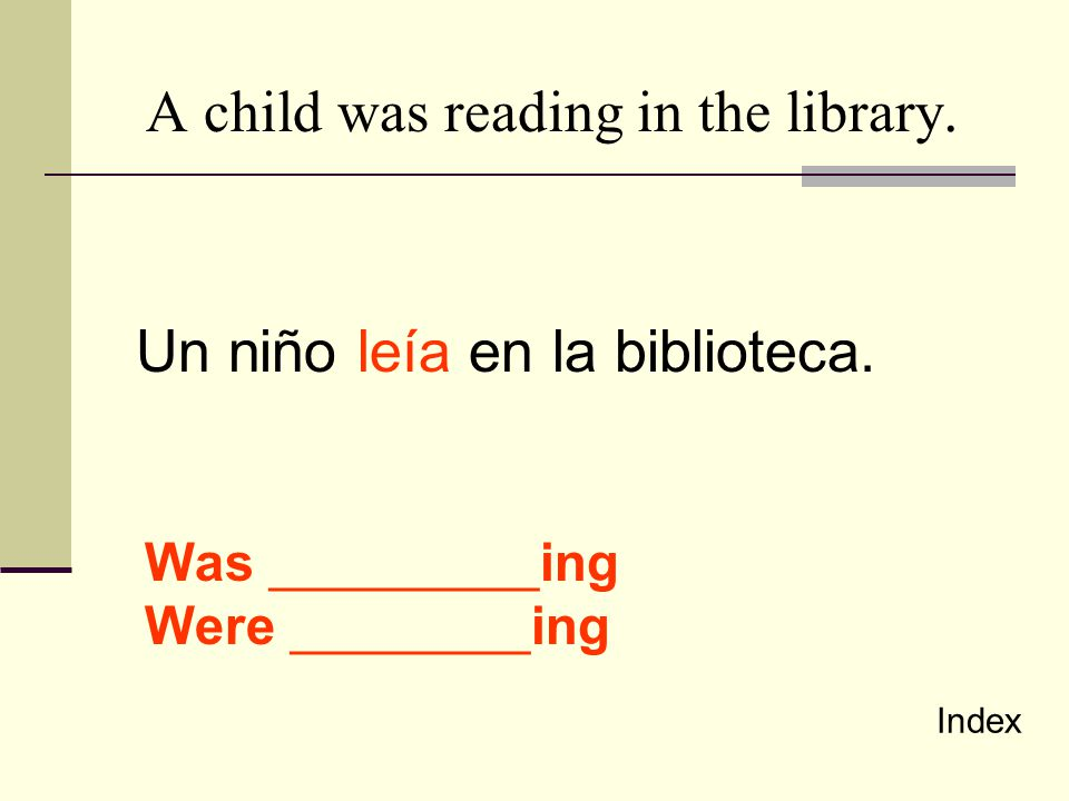 A child was reading in the library.