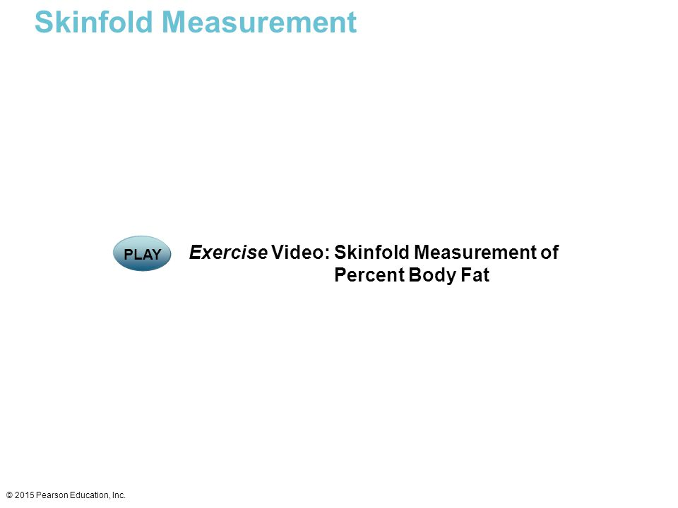 Skinfold Measurement Exercise Video: Skinfold Measurement of