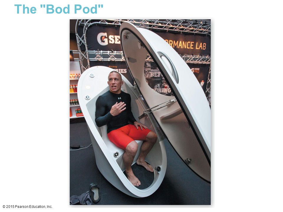 The Bod Pod © 2015 Pearson Education, Inc.