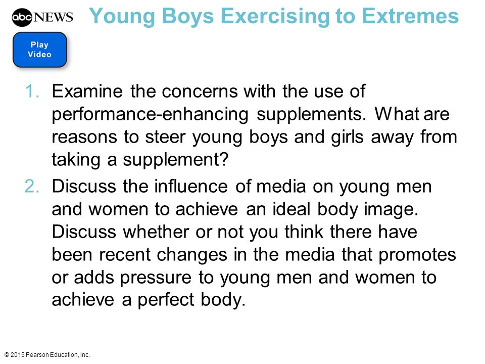 Young Boys Exercising to Extremes
