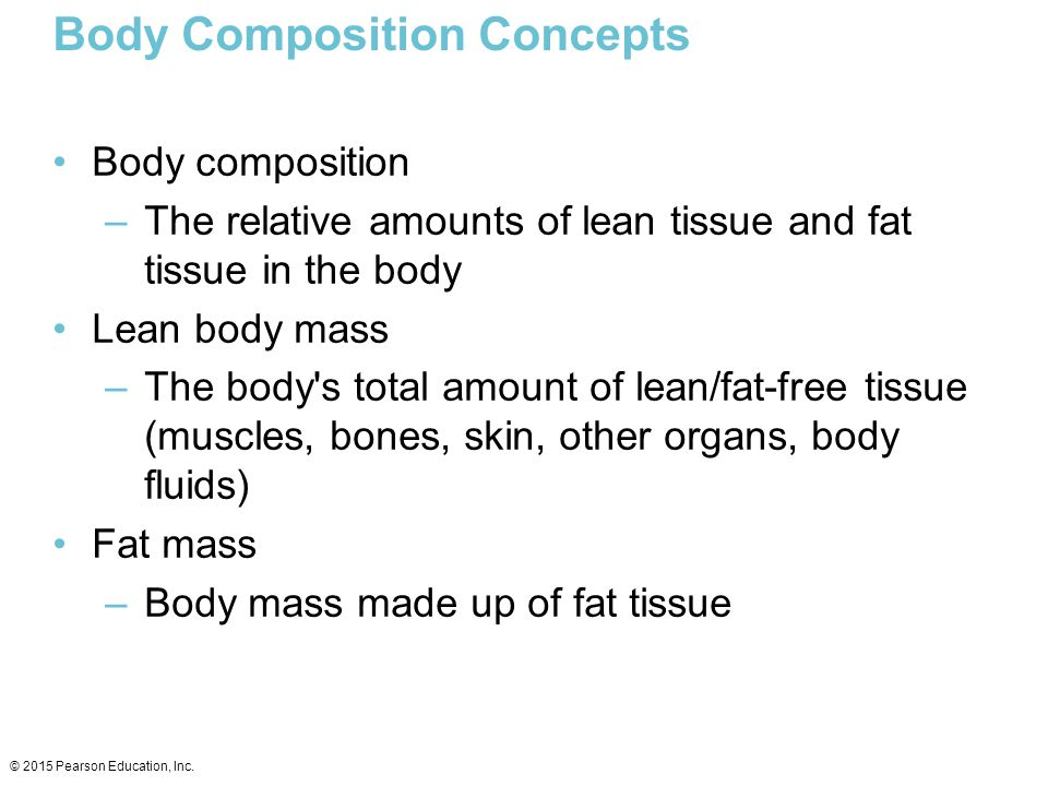 Body Composition Concepts