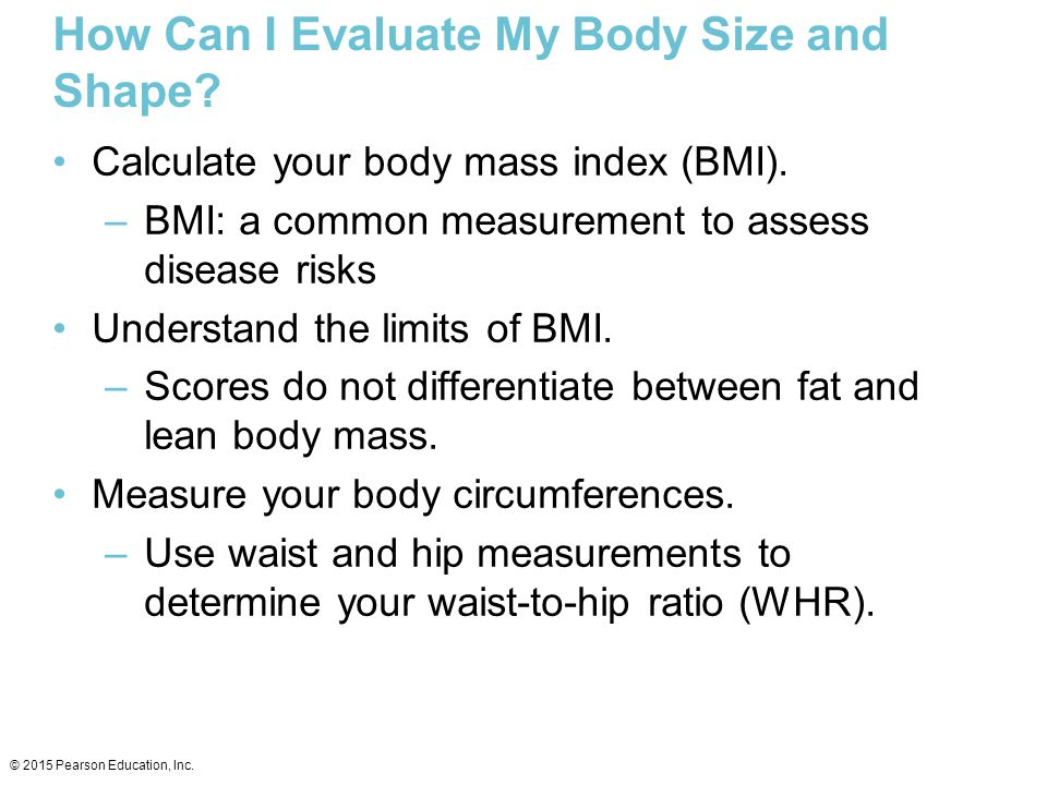 How Can I Evaluate My Body Size and Shape