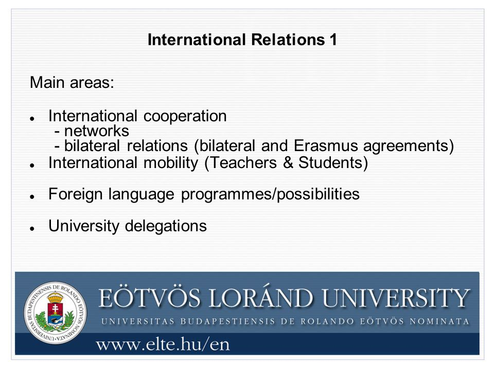 International Relations 1