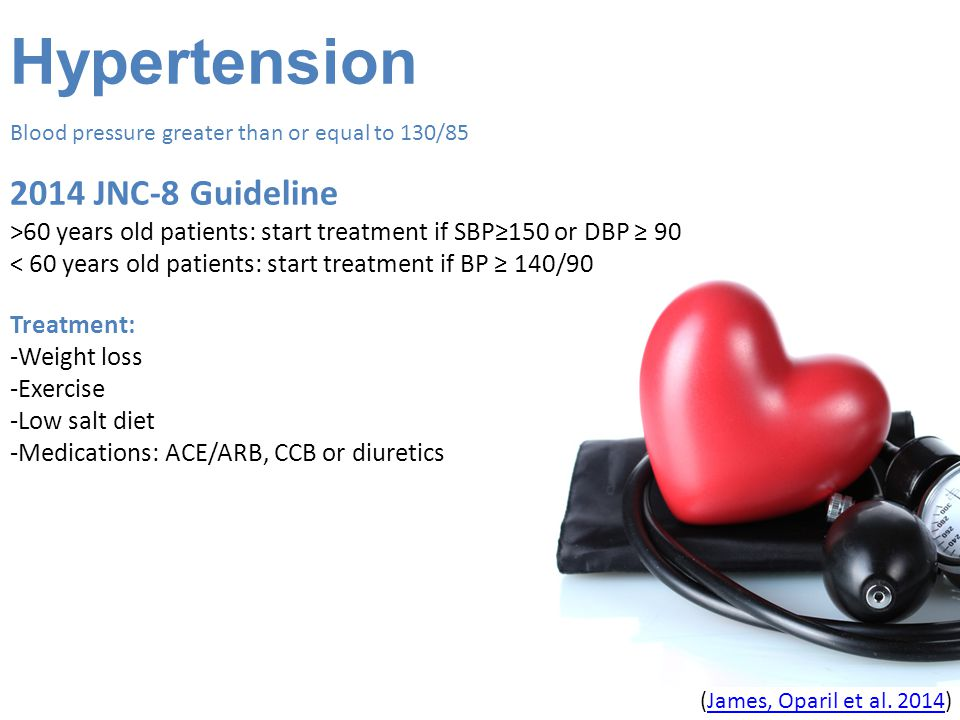 Hypertension 2014 JNC-8 Guideline