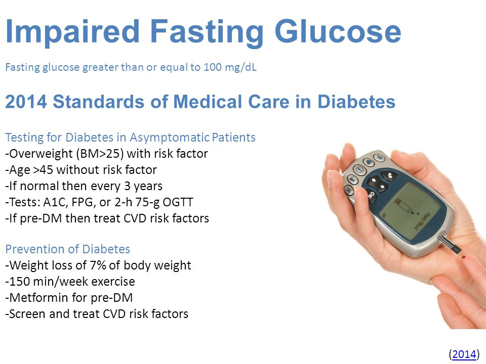 Impaired Fasting Glucose