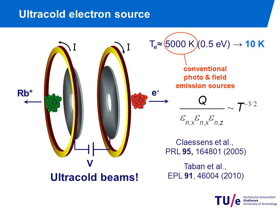 The cold electron (and ion) source