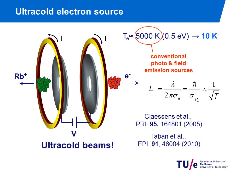 Ultracold electron source