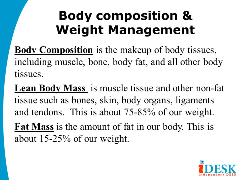 Body composition & Weight Management