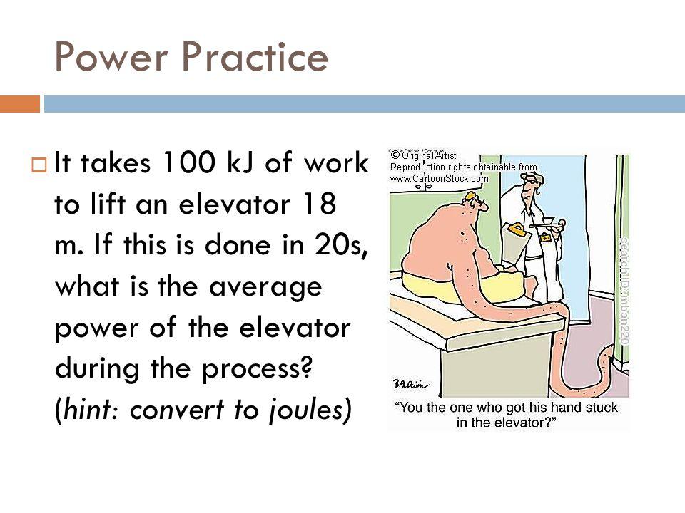 Power Practice