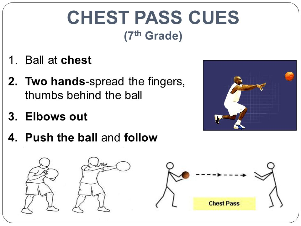 CHEST PASS CUES (7th Grade)