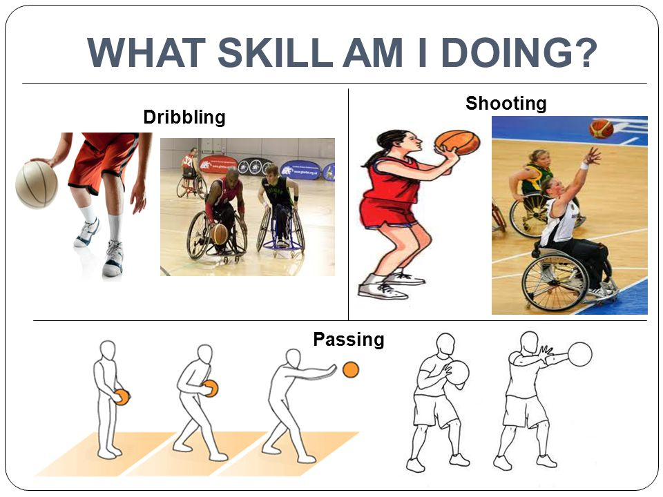 WHAT SKILL AM I DOING Shooting Dribbling Passing