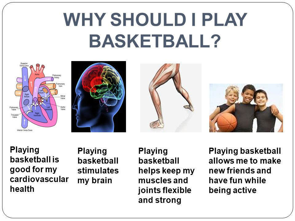 WHY SHOULD I PLAY BASKETBALL