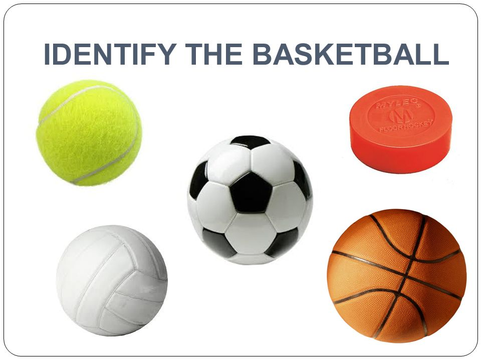 IDENTIFY THE BASKETBALL